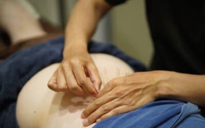 大腰筋の刺鍼法
